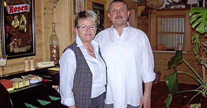 Andreas Papst mit Frau